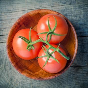 Bowl of tomatoes - image gratuit #274835