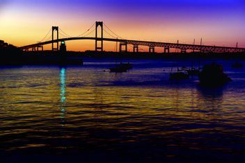 Bay Area Newport - At Dusk - image #277545 gratis