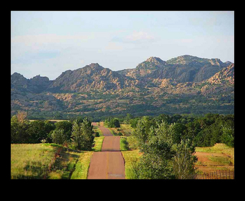 South Mountain, Wichita Mountains, Oklahoma - Kostenloses image #279845