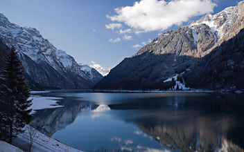 Kloentalersee Lake - Glarus, Switzerland - Free image #280005