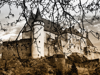 Castle of Vianden again! - Free image #280105