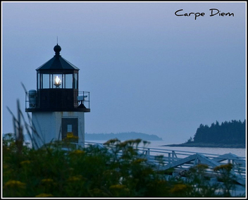 Marshall Point Lighthouse in the Evening - image gratuit #280355