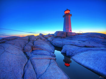 sunset at peggy's cove - бесплатный image #280505