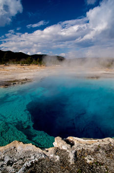 Turqoise Pool, Yellowstone - image gratuit #280535