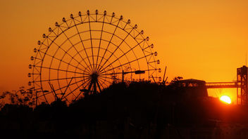 Ferris Wheel Sunset - image gratuit #280595