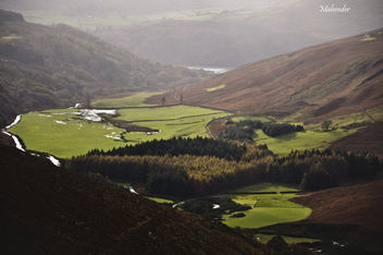 Beautiful view near Guinness lake in Wicklow mountain - бесплатный image #280665