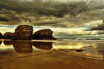 playa de las catedrales - Free image #284035