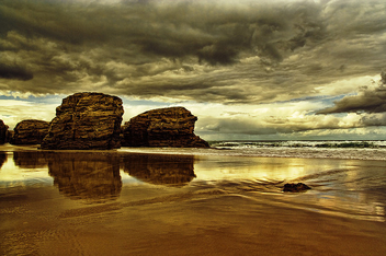 playa de las catedrales - бесплатный image #284035