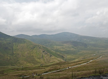 Walking up, Snowdonia, Wales - Free image #287275