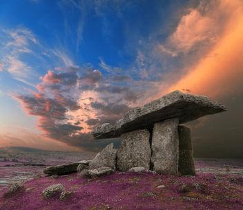 Poulnabrone Dolmen Sunset - Lavender Fantasy - бесплатный image #290295