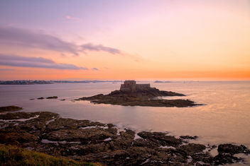 Saint-Malo Twilight Scenery - HDR - бесплатный image #290955