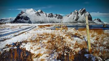 Vestrahorn, Iceland - image #293535 gratis