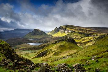 Blue is coming in Quiraing - Free image #293615