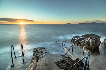 Sunrise in Hawk cliff, Dalkey, Co. Dublin, Ireland - image #295805 gratis
