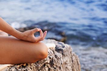 Meditating - Free image #296645