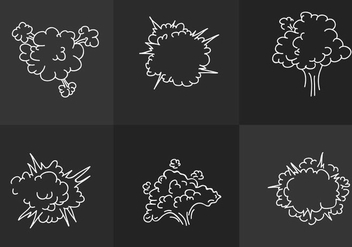 Dust Cloud - Free vector #297645
