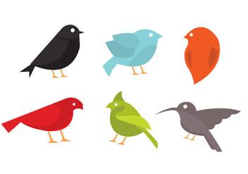 Vector Collection of Birds - Free vector #297675