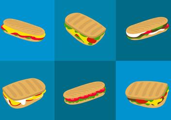 Panini Sandwich - Free vector #297795