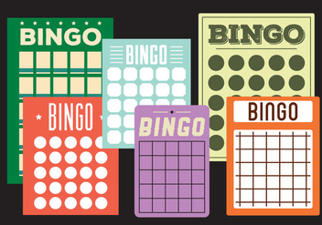 Bingo cards - vector #297885 gratis