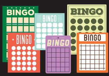 Bingo cards - vector gratuit #297885