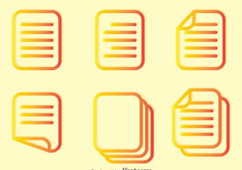 Read Outline Icons - Free vector #297915