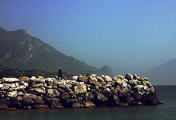 The lonesome fisherman - image #298435 gratis