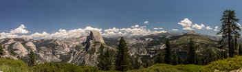 View from Glacier Point - Yosemite Park - Kostenloses image #299735