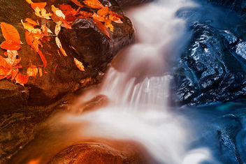 Stream of Fire & Ice - HDR - image gratuit #299795