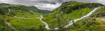 Sendefossen - Myrkdal, Norway - Landscape photography - Free image #300385