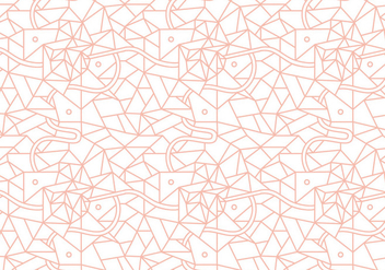 Linear Abstract Pattern Vector - Free vector #301785