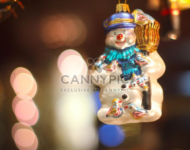 Christmas holiday snowman - Free image #302365