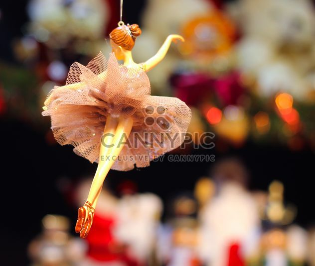 Christmas ballet girl decoration - Free image #302385