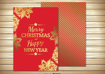 Christmas Card Illustration - Free vector #302655