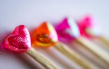 Orange And Pink Lollipops - image #302805 gratis