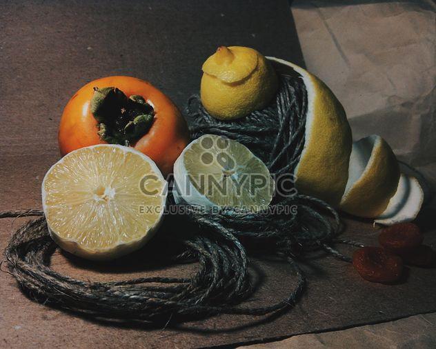 Pee de limón y orejones de albaricoque - image #302845 gratis