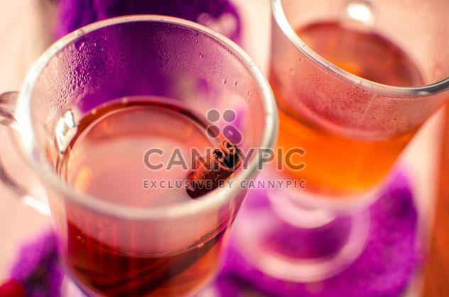 теплый чай, Открытый с корицей - бесплатный image #302925