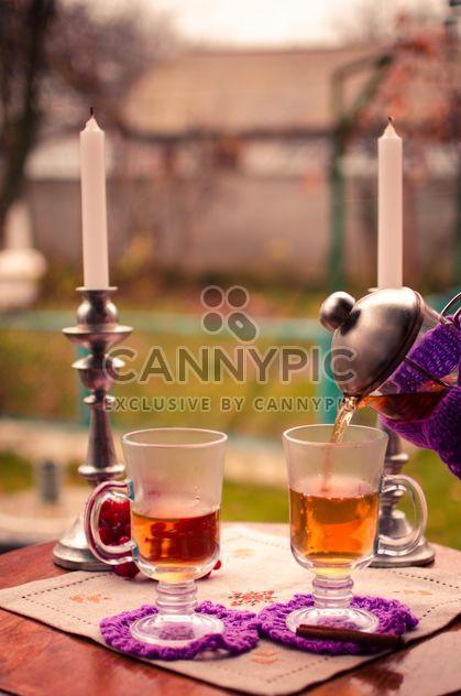 warm tea with cinnamon - Free image #302945