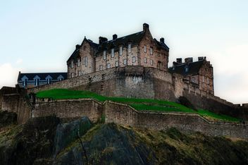 castle in Edinburgh - image #303805 gratis