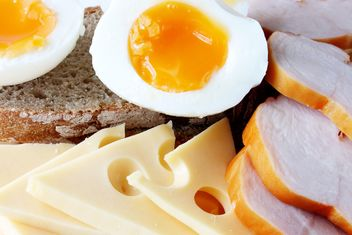 Ham eggs and cheese - image #304025 gratis