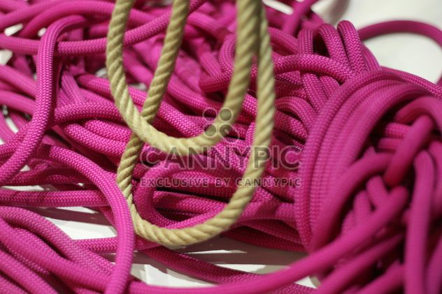 bright pink ropes #background #texture - Free image #304065