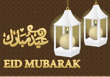 Eid Al Fitr Lamps - Free vector #304255
