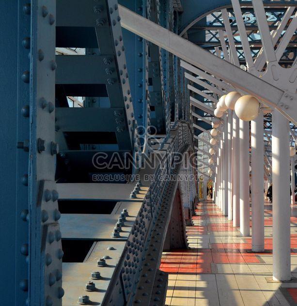 Detail of massive bridge - Free image #304765