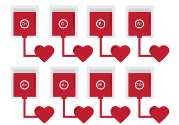 Blood Donation Icon Vectors - Free vector #305115