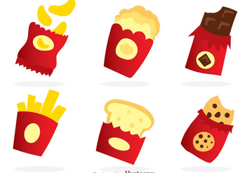 Snack Packaging - vector #305125 gratis
