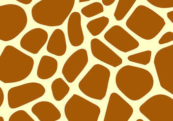 Giraffe pattern vector - Free vector #305155