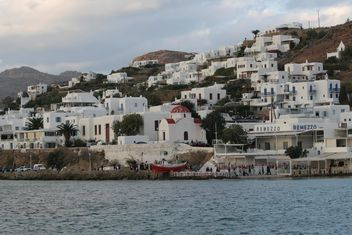 White Buildings on a shore - Free image #305355