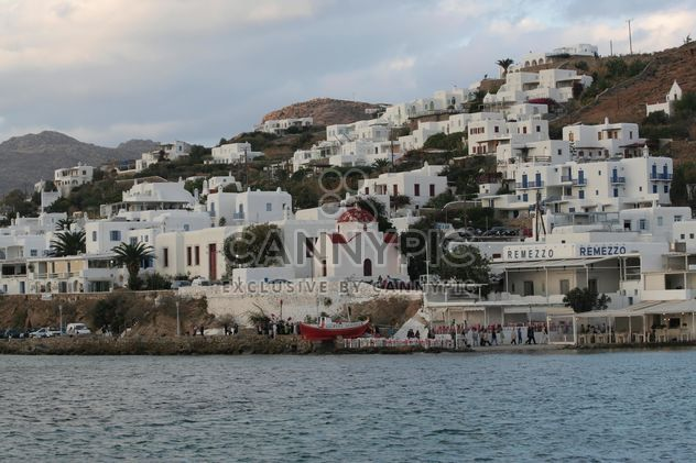 White Buildings on a shore - image #305355 gratis