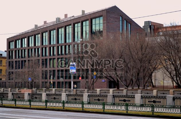 Building in street of Moscow - Free image #305725