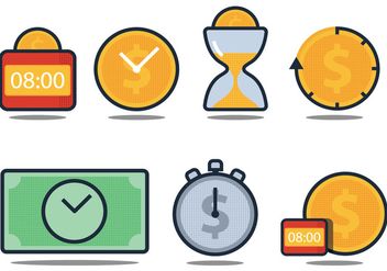 Time Is Money - vector gratuit #305825