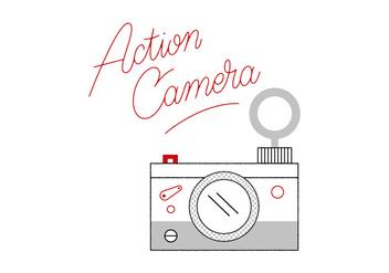 Free Camera Vector - Kostenloses vector #305885